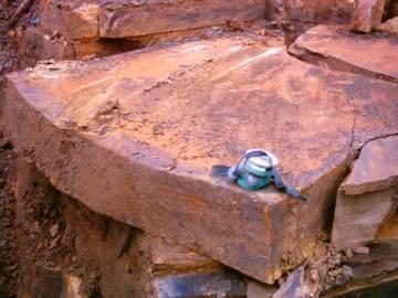 flagstone block