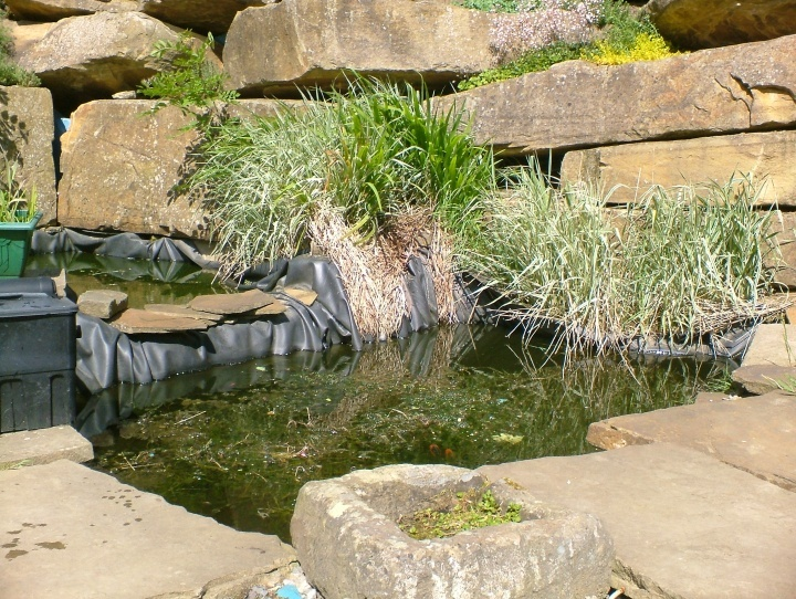 yorkstone garden stone