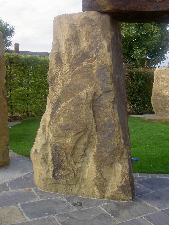 garden stone monolith