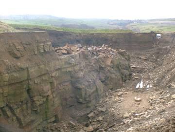 yorkstone quarry