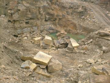 yorkstone quarry blocks