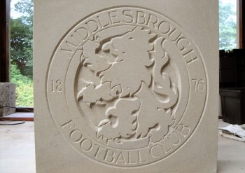 Middlesbrough stone plaque