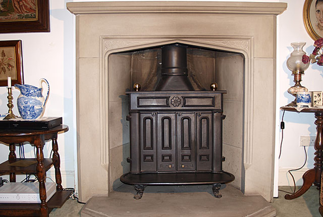 Hutton fireplace