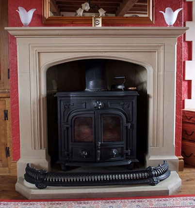 Moor fireplace
