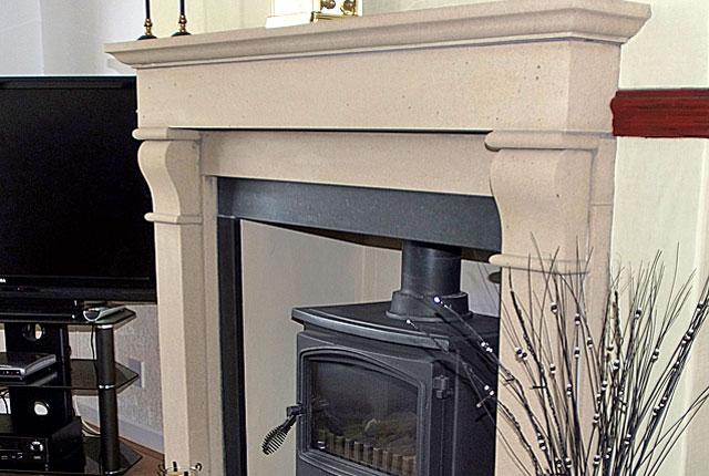 Farrah fireplace