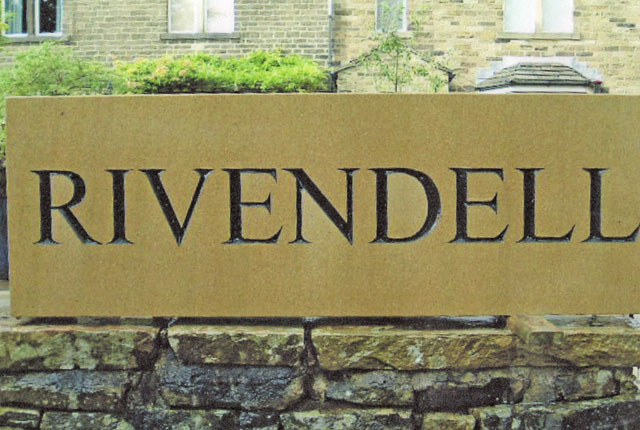 rivendell house sign