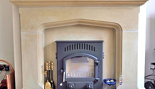 Yorkstone fireplaces